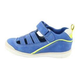 Sandałki chłopięce rzep American Club GC12/20 wielokolorowe niebieskie 1