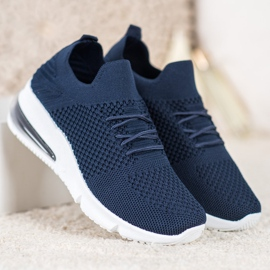 Sweet Shoes Tekstylne Buty Sportowe niebieskie 2