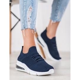 Sweet Shoes Tekstylne Buty Sportowe niebieskie 3