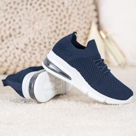 Sweet Shoes Tekstylne Buty Sportowe niebieskie 1