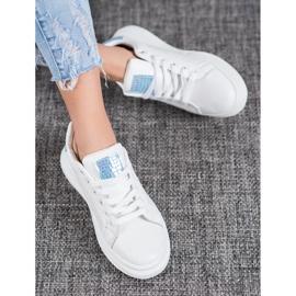 SHELOVET Białe Buty Sportowe 3