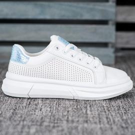 SHELOVET Białe Buty Sportowe 4