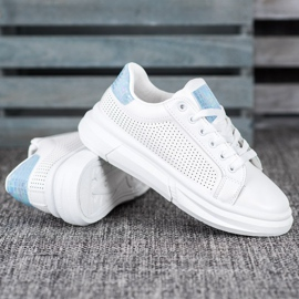 SHELOVET Białe Buty Sportowe 5