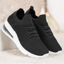 Sweet Shoes Tekstylne Buty Sportowe czarne 1