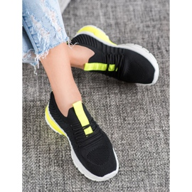 Bella Paris Ażurowe Sneakersy czarne 2