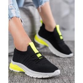 Bella Paris Ażurowe Sneakersy czarne 1