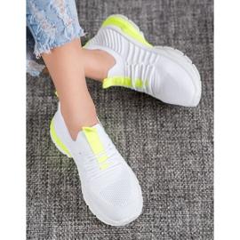 Bella Paris Ażurowe Sneakersy białe 2