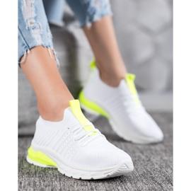 Bella Paris Ażurowe Sneakersy białe 1