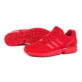 Buty adidas Originals Zx Flux Jr EG3823 czerwone 1