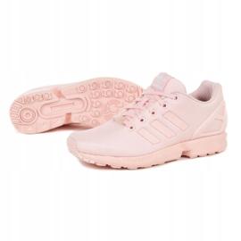 Buty adidas Originals Zx Flux Jr EG3824 różowe 1