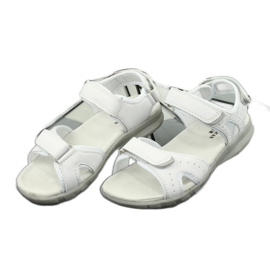 Sandały sportowe American Club HL15/20 white białe 2