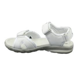 Sandały sportowe American Club HL15/20 white białe 1