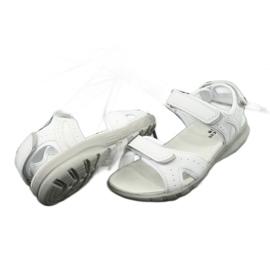 Sandały sportowe American Club HL15/20 white białe 3