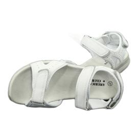 Sandały sportowe American Club HL15/20 white białe 4