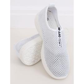 Buty sportowe białe NB262P-2 White 2