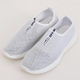 Buty sportowe białe NB262P-2 White 1