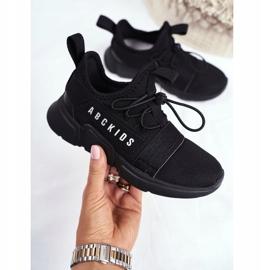 ABCKIDS POLAND Sp. z o.o. Sportowe Buty Dziecięce Młodzieżowe Czarne Abckids B012310074 2