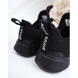 ABCKIDS POLAND Sp. z o.o. Sportowe Buty Dziecięce Młodzieżowe Czarne Abckids B012310074 4