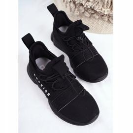 ABCKIDS POLAND Sp. z o.o. Sportowe Buty Dziecięce Młodzieżowe Czarne Abckids B012310074 5
