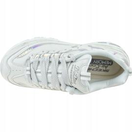 Buty Skechers D'Lites-Flash Tonic W 66666178-OFWT białe 2