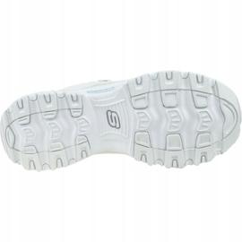 Buty Skechers D'Lites-Flash Tonic W 66666178-OFWT białe 3