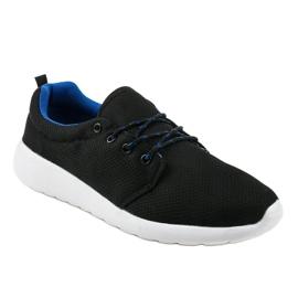 Czarne męskie obuwie sportowe YFM-71A 1