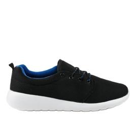 Czarne męskie obuwie sportowe YFM-71A 2