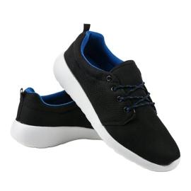 Czarne męskie obuwie sportowe YFM-71A 3
