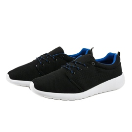 Czarne męskie obuwie sportowe YFM-71A 4