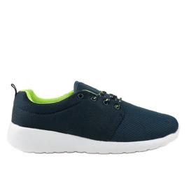 Granatowe męskie obuwie sportowe YFM-71B 2