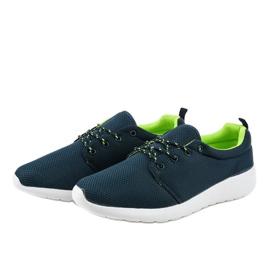 Granatowe męskie obuwie sportowe YFM-71B 3