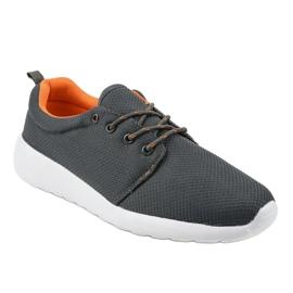 Szare męskie obuwie sportowe YFM-71C 1