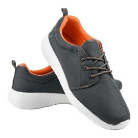 Szare męskie obuwie sportowe YFM-71C 4