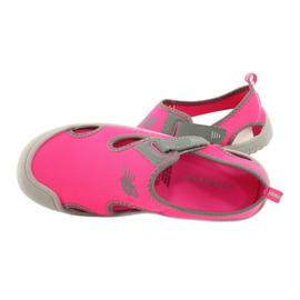 Sandały New Balance Sandal K K2013PKG czarne czerwone różowe szare 4