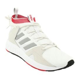 Buty adidas Questarstrike Mid M G25775 białe czerwone szare 1