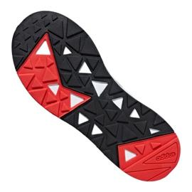 Buty adidas Questarstrike Mid M G25775 białe czerwone szare 4