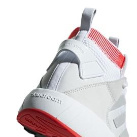 Buty adidas Questarstrike Mid M G25775 białe czerwone szare 6
