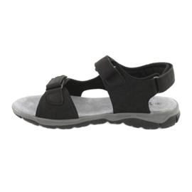 Sandały sportowe American Club XD03/20 czarne 2