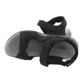 Sandały sportowe American Club XD03/20 czarne 5