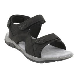 Sandały sportowe American Club XD03/20 czarne 1