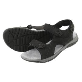 Sandały sportowe American Club XD03/20 czarne 4