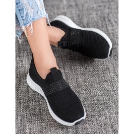 SHELOVET Wsuwane Buty Sportowe czarne 1