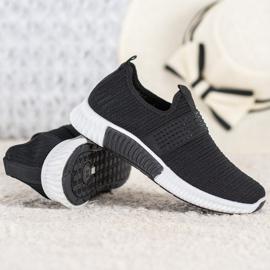 SHELOVET Wsuwane Buty Sportowe czarne 2