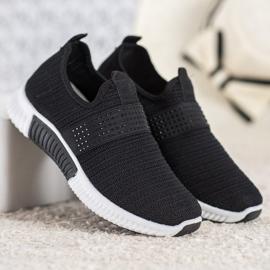 SHELOVET Wsuwane Buty Sportowe czarne 3