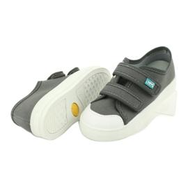 Befado obuwie dziecięce 440X014 szare 4
