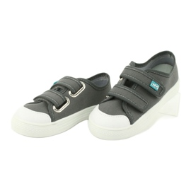 Befado obuwie dziecięce 440X014 szare 3