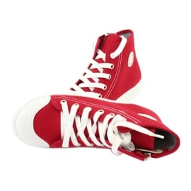 Befado obuwie dziecięce 438X011 czerwone 5