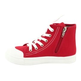 Befado obuwie dziecięce 438X011 czerwone 2
