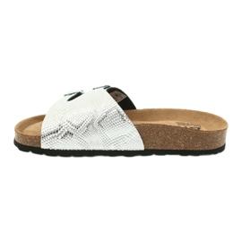 Klapki FOOT-COMFORT BIOX CATTY szare 1