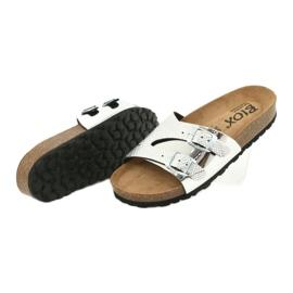 Klapki FOOT-COMFORT BIOX CATTY szare 3